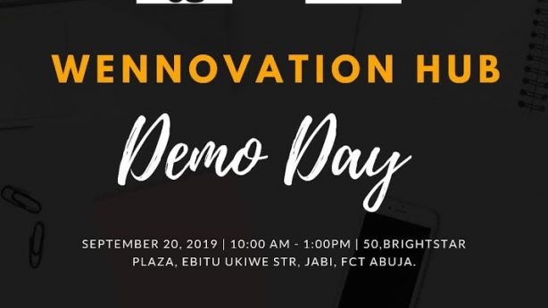 Wennovation Hub Demo Day Flyer